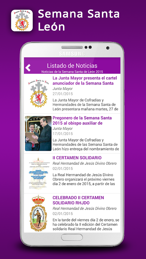 Semana Santa León- screenshot