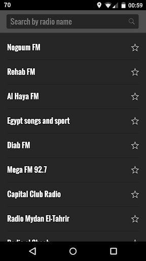 エジプトをラジオします。