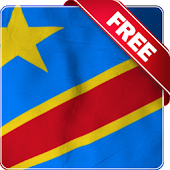 Congo flag Free live wallpaper