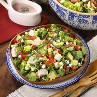 Simple Summer Cobb Salad.