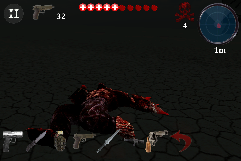 Zombie Targets - screenshot