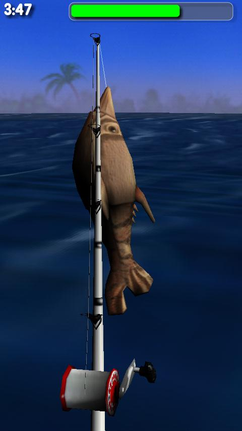 Big Dino Fishing 3D - screenshot