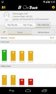 B On Track Screenshot