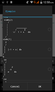 Integral Step-by-Step Calc: miniatura de captura de pantalla