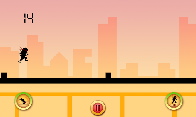 Ninja Escape FREE - screenshot
