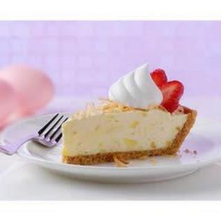 Strawberry Pina Colada Pie.