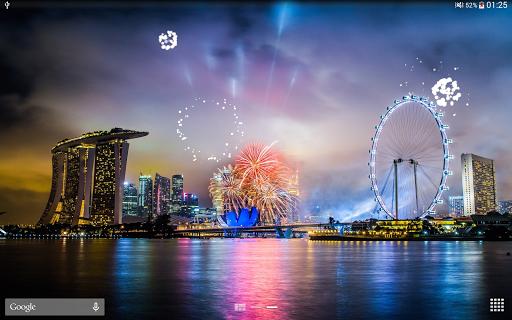 Fireworks Live Wallpaper 2018 1.2.1 screenshots 9