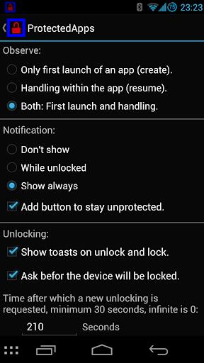 ProtectedApps 3.9.3 screenshots 6