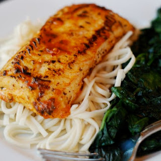 Asian Spiced Tilapia with Udon