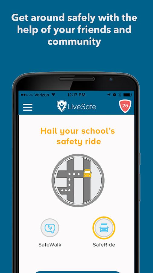 LiveSafe- screenshot