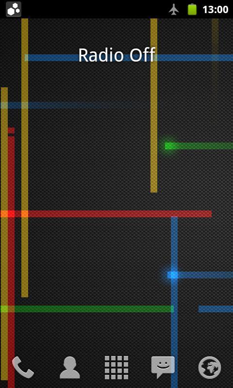 Network Provider Widget- screenshot