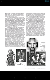 Skeptic Magazine- screenshot thumbnail