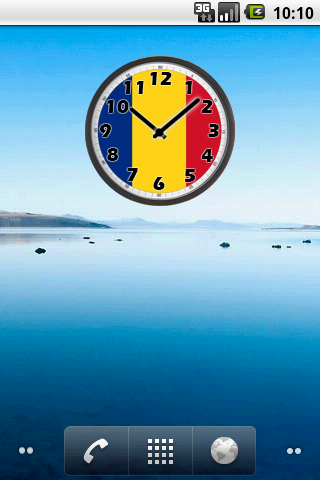 Romania Clock
