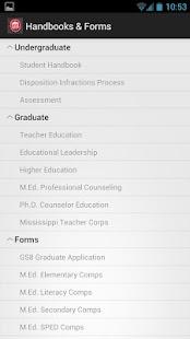 School of Education - screenshot thumbnail