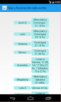 Screenshot of Quinielas Argentinas