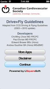 CCS Driving Guidelines - screenshot thumbnail