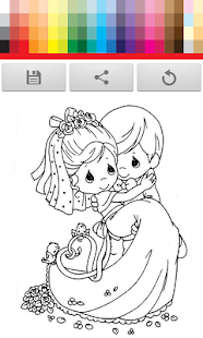 Wedding Coloring for Kids