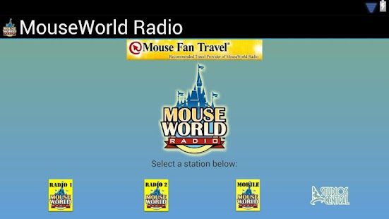 MouseWorld Radio - screenshot thumbnail
