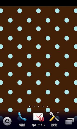 棕色的圆点壁纸