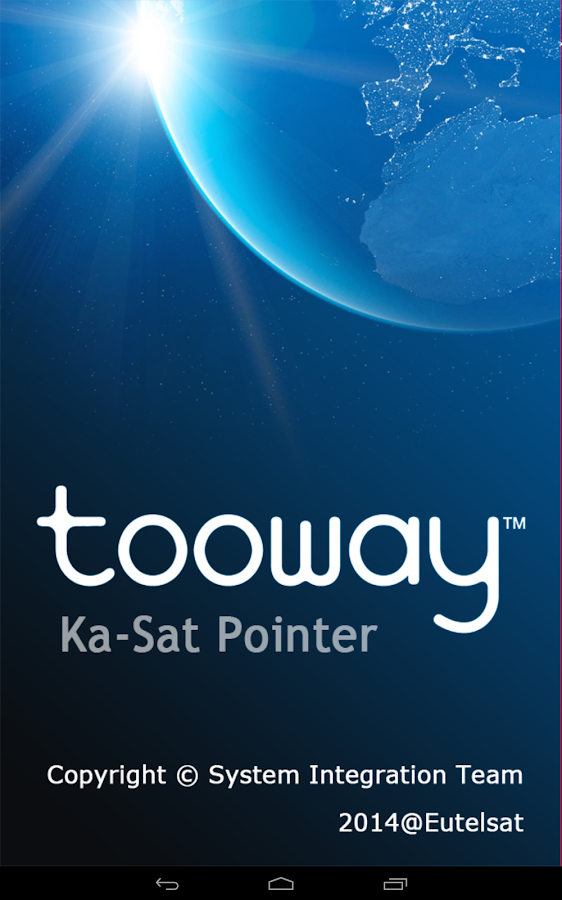 KA-SAT Pointer for Tooway- screenshot