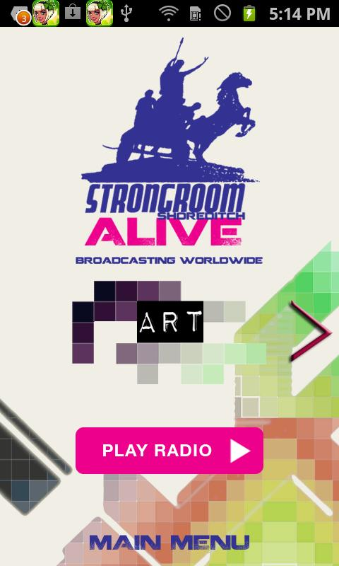 Strongroom Radio - screenshot