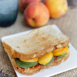 Peachy Bacon Sandwich