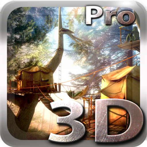 Tree Village 3D Pro lwp app for Android