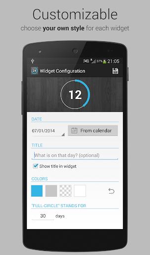 Countdown Days - App & Widget for PC