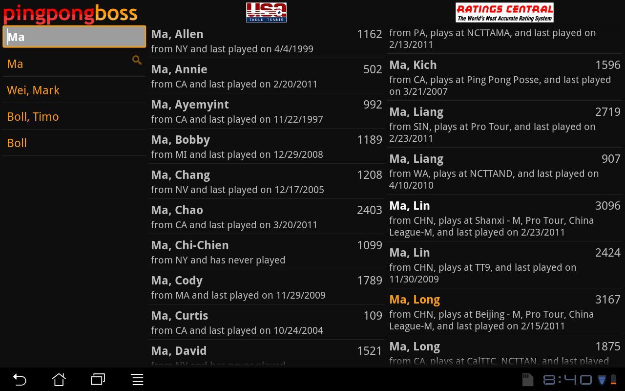 pingpongboss - screenshot