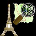 Offline GPS Paris OpenStrtMap logo