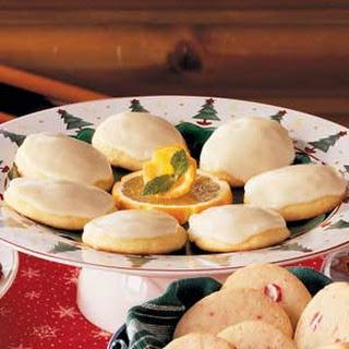 Orange Cookies.