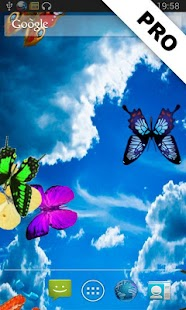 Butterflies LITE LWP - screenshot thumbnail