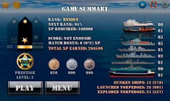 Screenshot of Silent Submarine Career