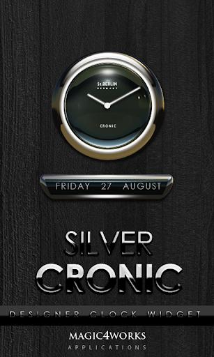 Cronic designer Clock Widget