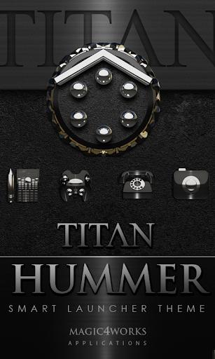 Smart Launcher Theme Hummer