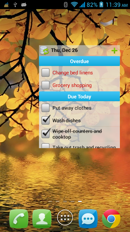 Chore Checklist - screenshot