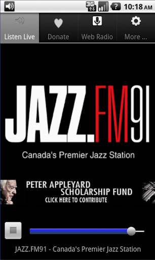 JAZZ.FM91 Android Player