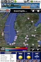Screenshot of WZZM 13 WX