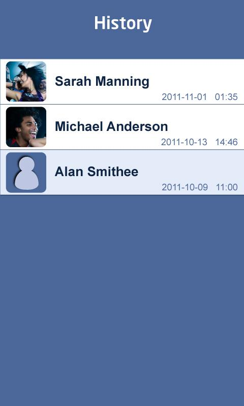 Add Friend (Facebook) - screenshot