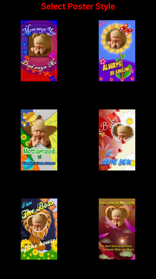 Baby Posters - screenshot