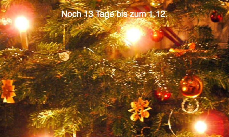 Advent calendar with Xmassongs - screenshot