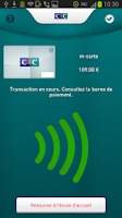 Screenshot of CIC M-Carte Orange