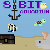 Pixelart Aquarium Wallpaper
