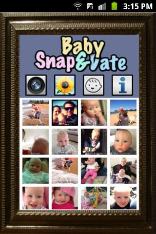 Baby Snap & Date - screenshot