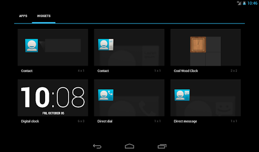Cool Wood Clock Widget (FREE) - screenshot thumbnail