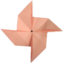 Baby Origami Windmill icon