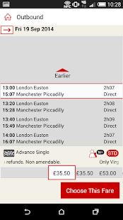 Virgin Trains - screenshot thumbnail