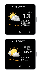 SmartWeather for SmartWatch screenshot 0