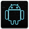 Neon Blue (launcher theme) logo