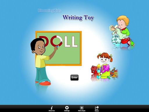 Writing Toy Word